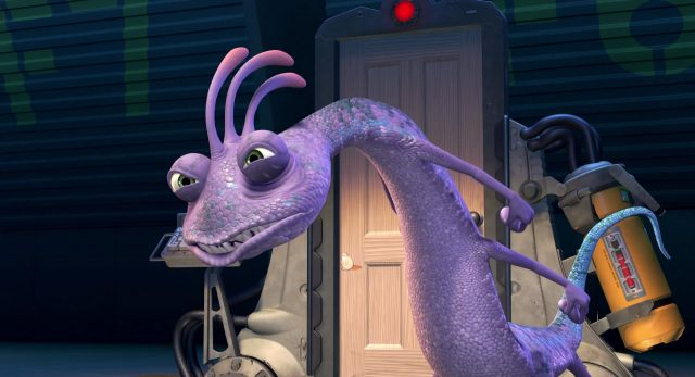 randall bogue boggs personnage character monstres monsters inc cie disney pixar