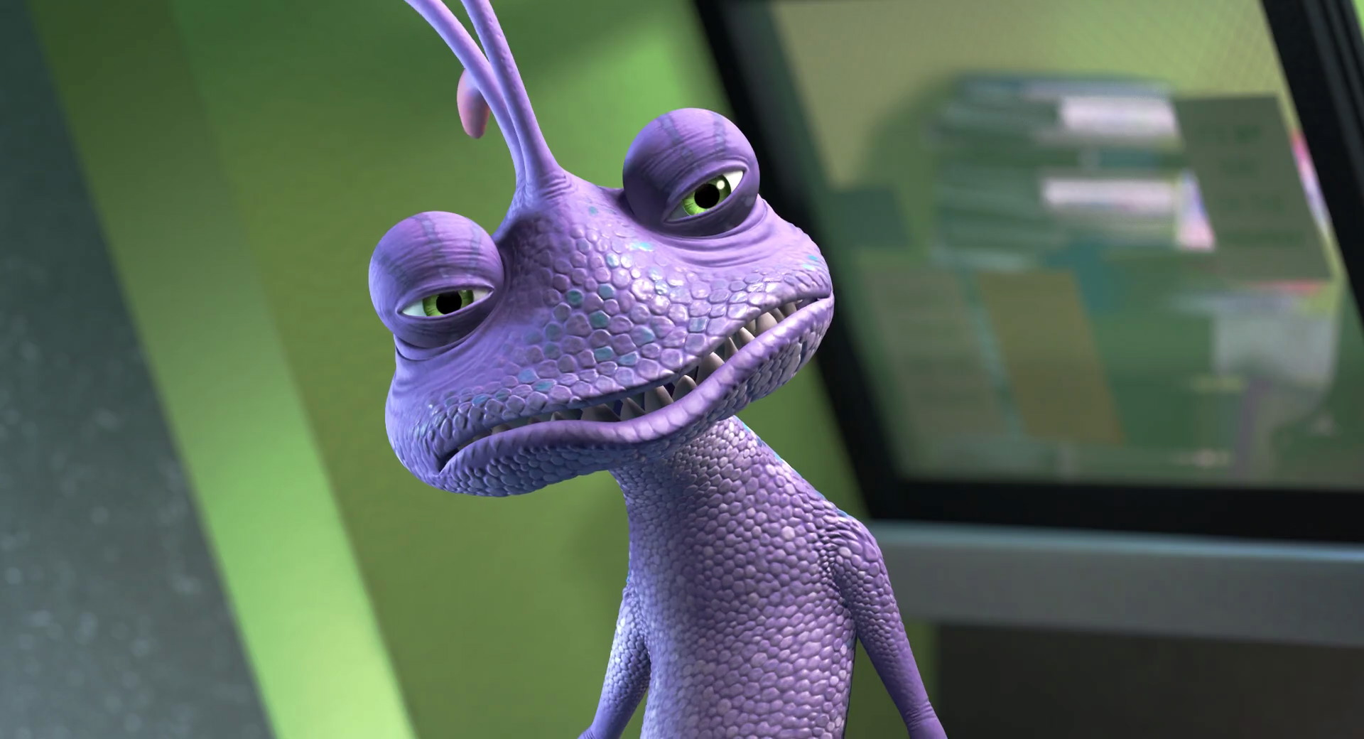 randall leon bogue boggs pixar disney personnage character monstres cie monsters inc