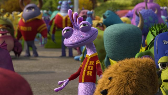 randall bogue boggs academy university personnage character monstres monsters inc cie disney pixar