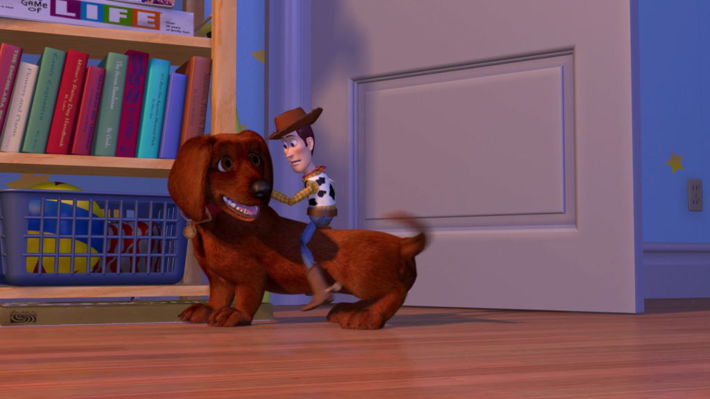 rasemotte buster pixar disney personnage character toy story 2