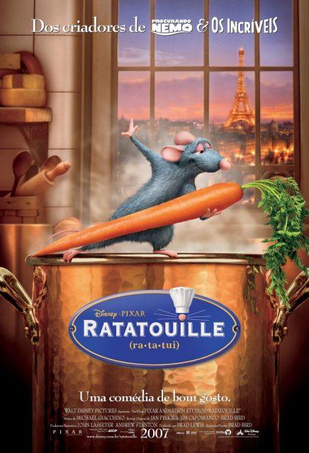 affiche poster ratatouille disney pixar