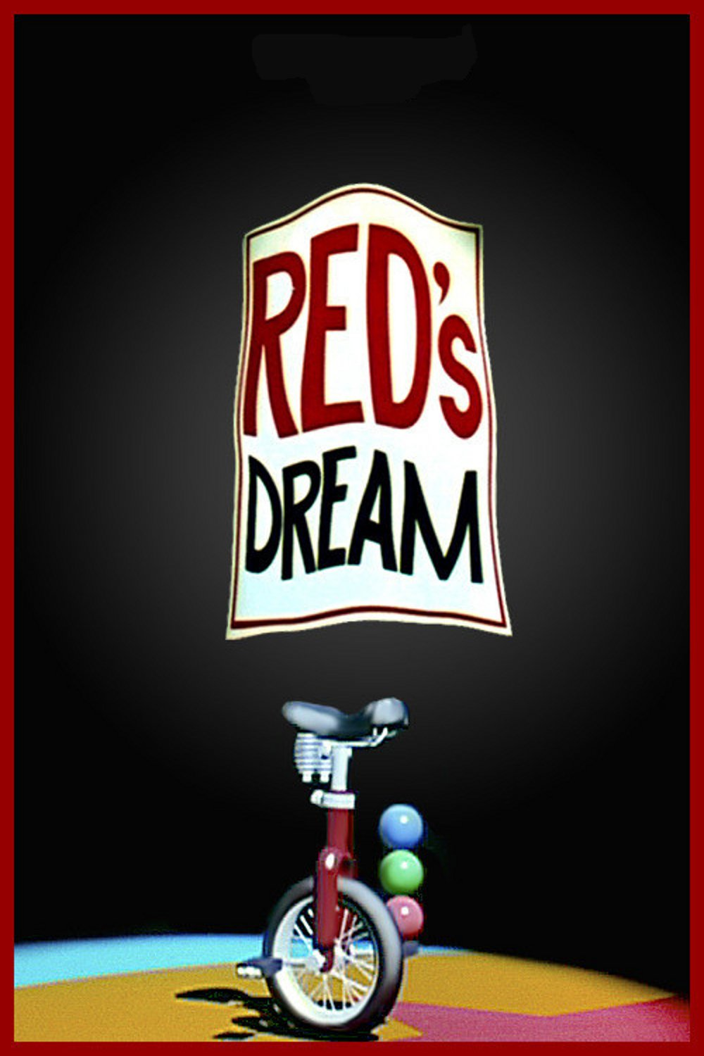 affiche poster red dream disney pixar