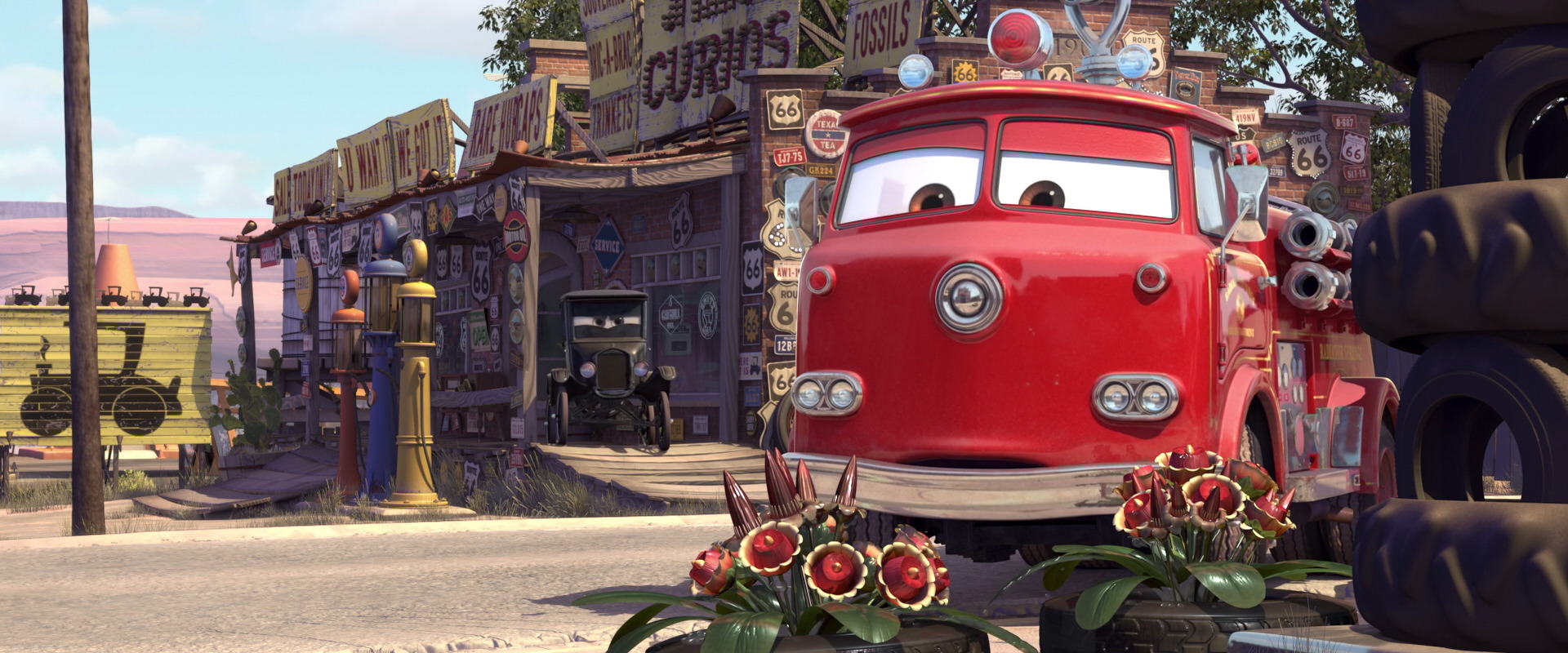 red personnage character pixar disney cars