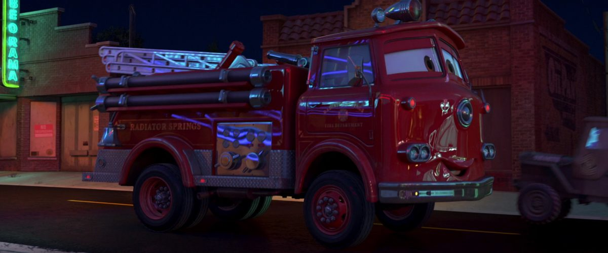 red personnage character cars disney pixar