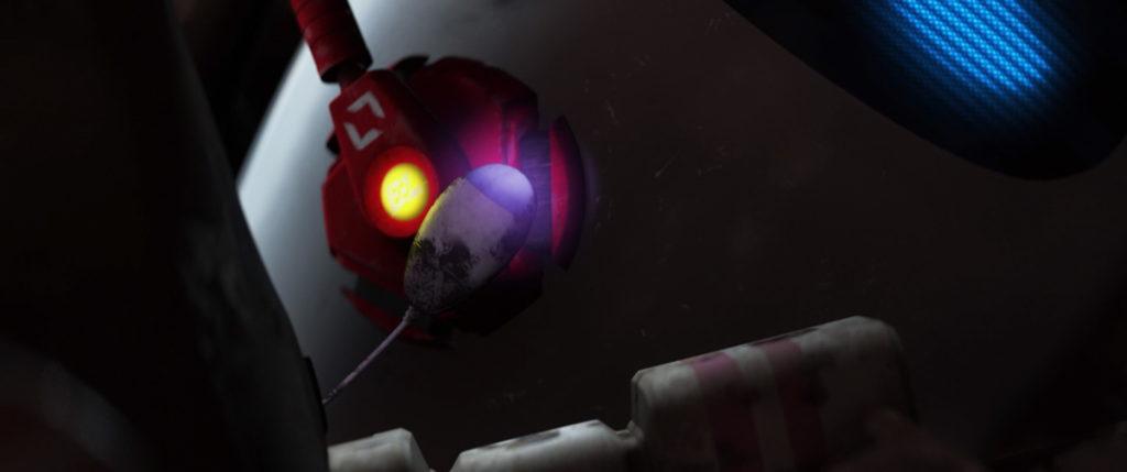 rem-e pixar disney personnage character wall-e