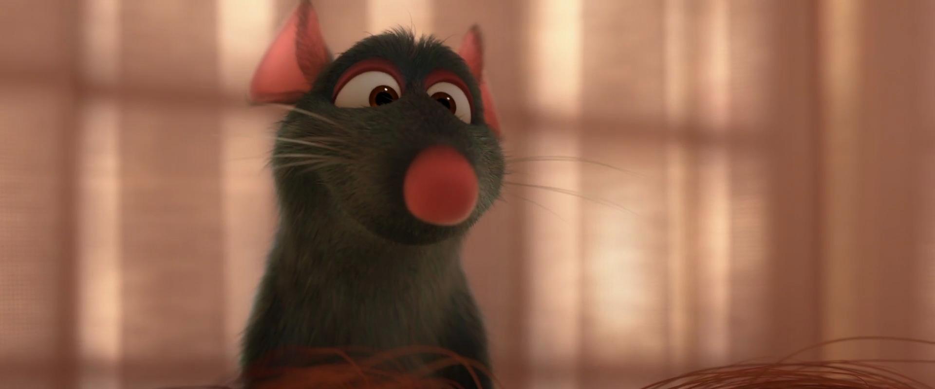 rémy personnage character pixar disney ratatouille