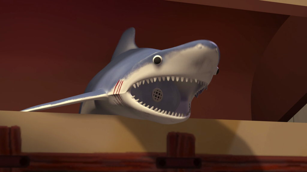requin mr shark toy story disney pixar personnage character