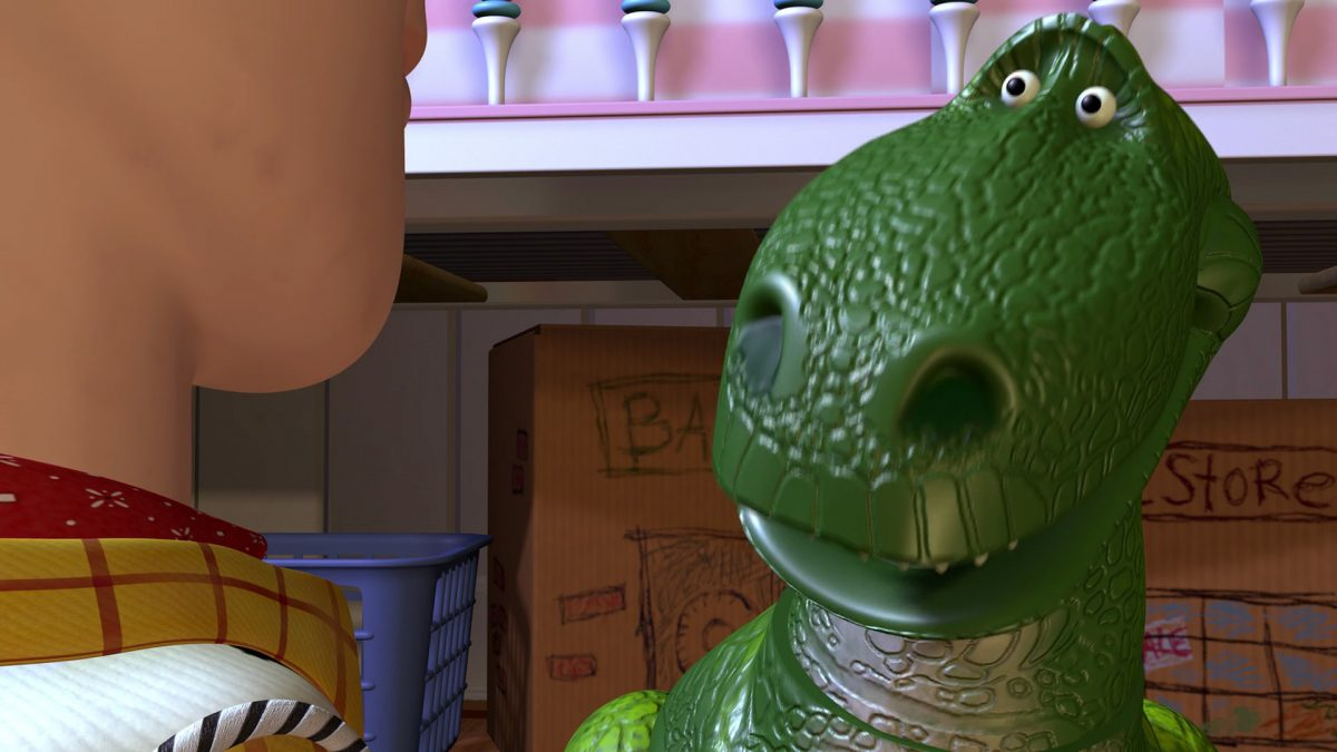 rex personnage character disney pixar toy story