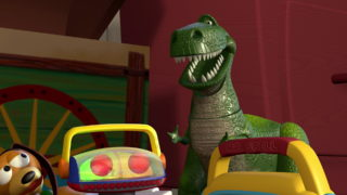 rex toy story disney pixar personnage character