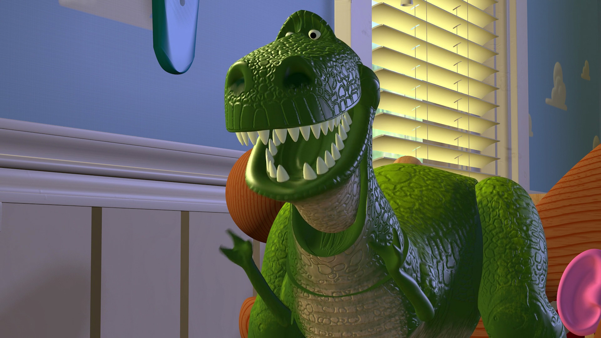 Rex Character From Toy Story Pixar Planet Fr