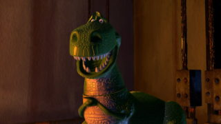 rex pixar disney personnage character toy story 2