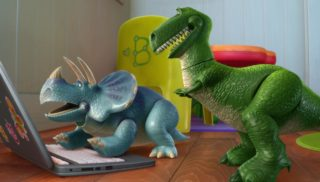 rex personnage character pixar disney toy story toons hawai vacances