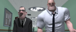 rick dicker pixar disney personnage character indestructibles incredibles