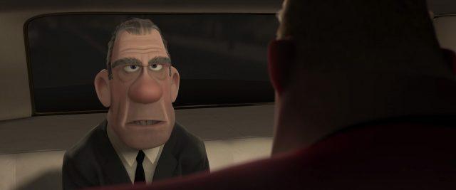 rick dicker personnage character indestructibles incredibles disney pixar