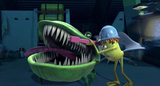 ricky plesuski personnage character monstres monsters inc cie disney pixar