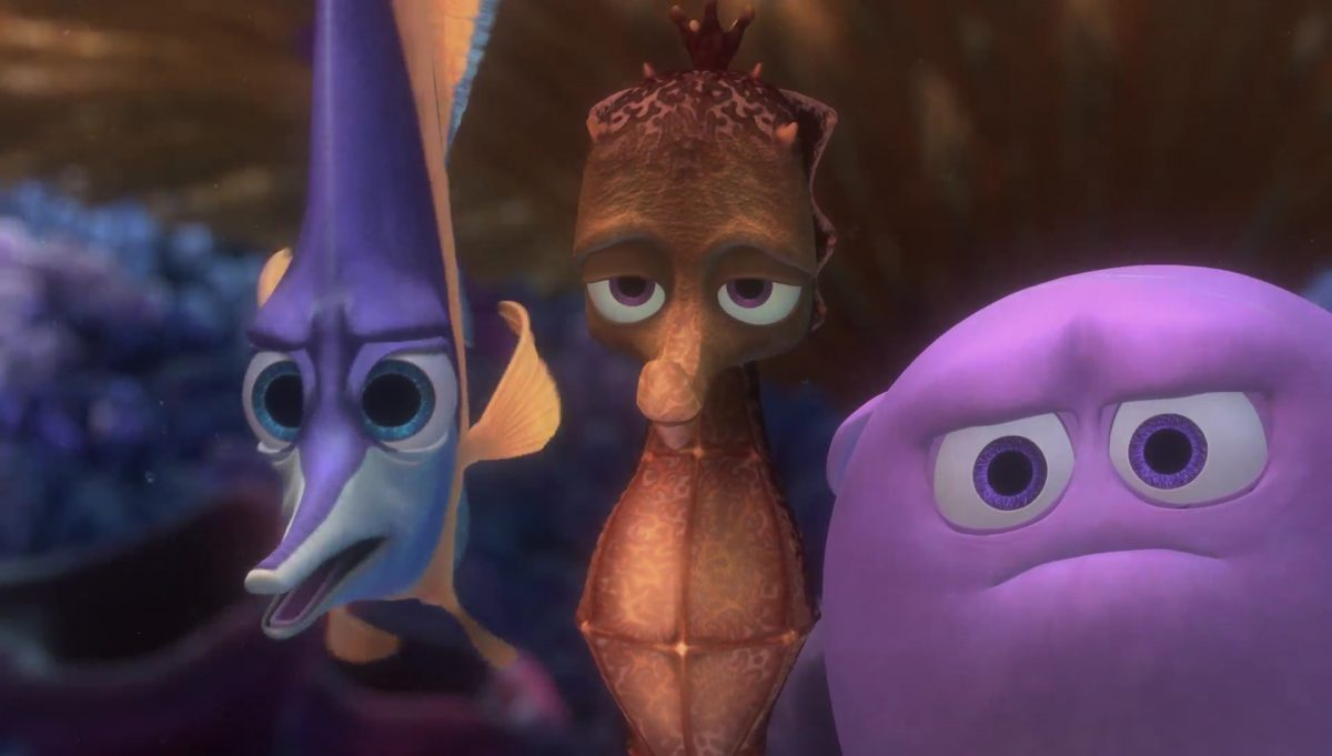 Bob Bill Ted robert edouard philippe personnage character monde nemo finding dory disney pixar