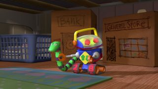 robot toy story disney pixar personnage character