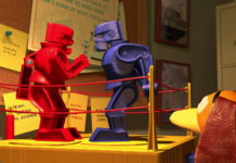 rock em ock em robots pixar disney personnage character toy story 2