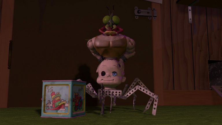 """Rockmobile, personnage dans """"Toy Story""""."""