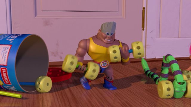 rocky gibraltar personnage character disney pixar toy story