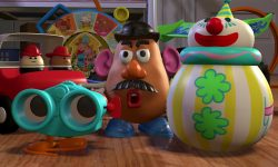 roly poly clown personnage character disney pixar toy story