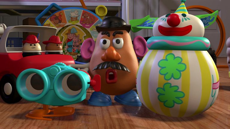 """Roly Poly Clown, personnage dans """"Toy Story""""."""