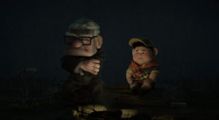 russell personnage character pixar disney là-haut up