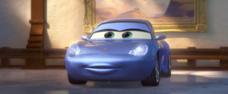 sally carrera personnage character pixar disney cars