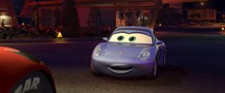 sally carrera personnage character pixar disney cars