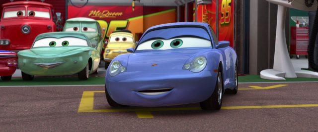 sally carrera personnage character cars disney pixar