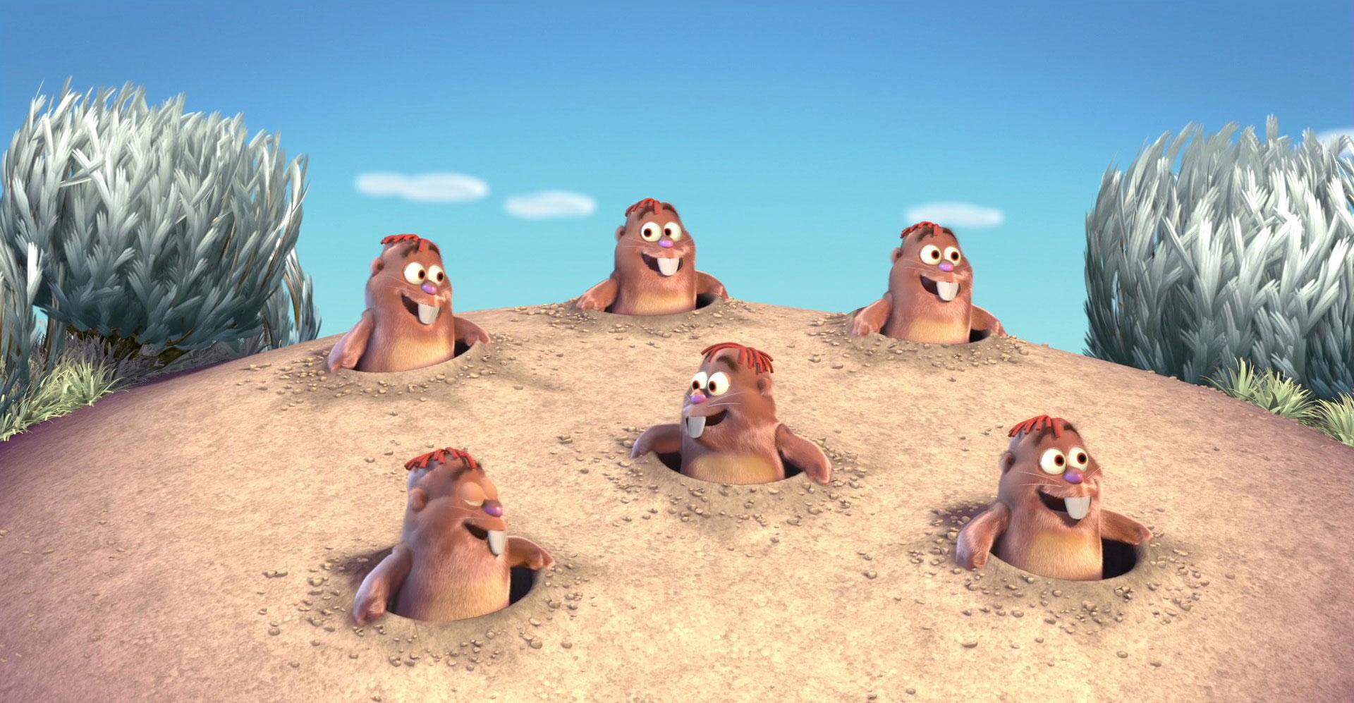 Pixar disney saute mouton boundin