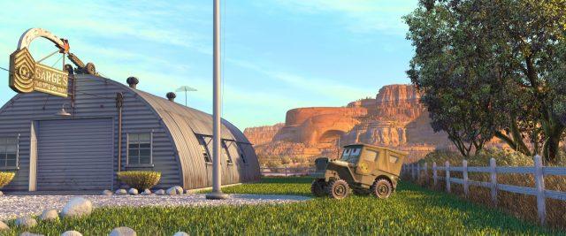sergent sarge personnage character cars disney pixar