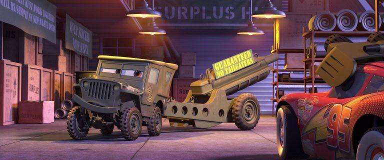 """Sergent, personnage dans """"Cars""""."""