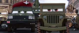 sergent sarge personnage character pixar disney cars 2