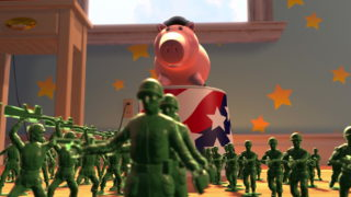 sergent soldat vert green army men pixar disney personnage character toy story 2