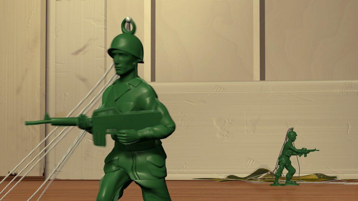 soldat vert green army men sergent personnage character disney pixar toy story