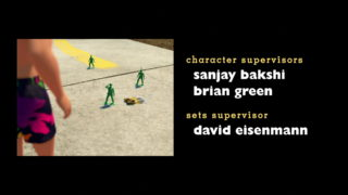 sergent soldat vert sarge green army men pixar disney personnage character toy story 3