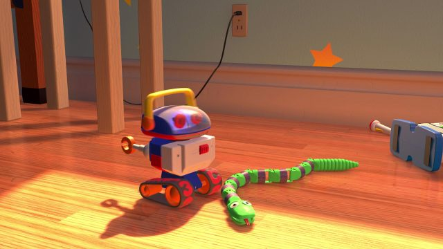 serpent snake personnage character disney pixar toy story