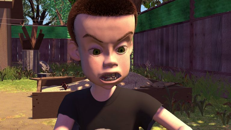 """Sid Phillips, personnage dans """"Toy Story""""."""