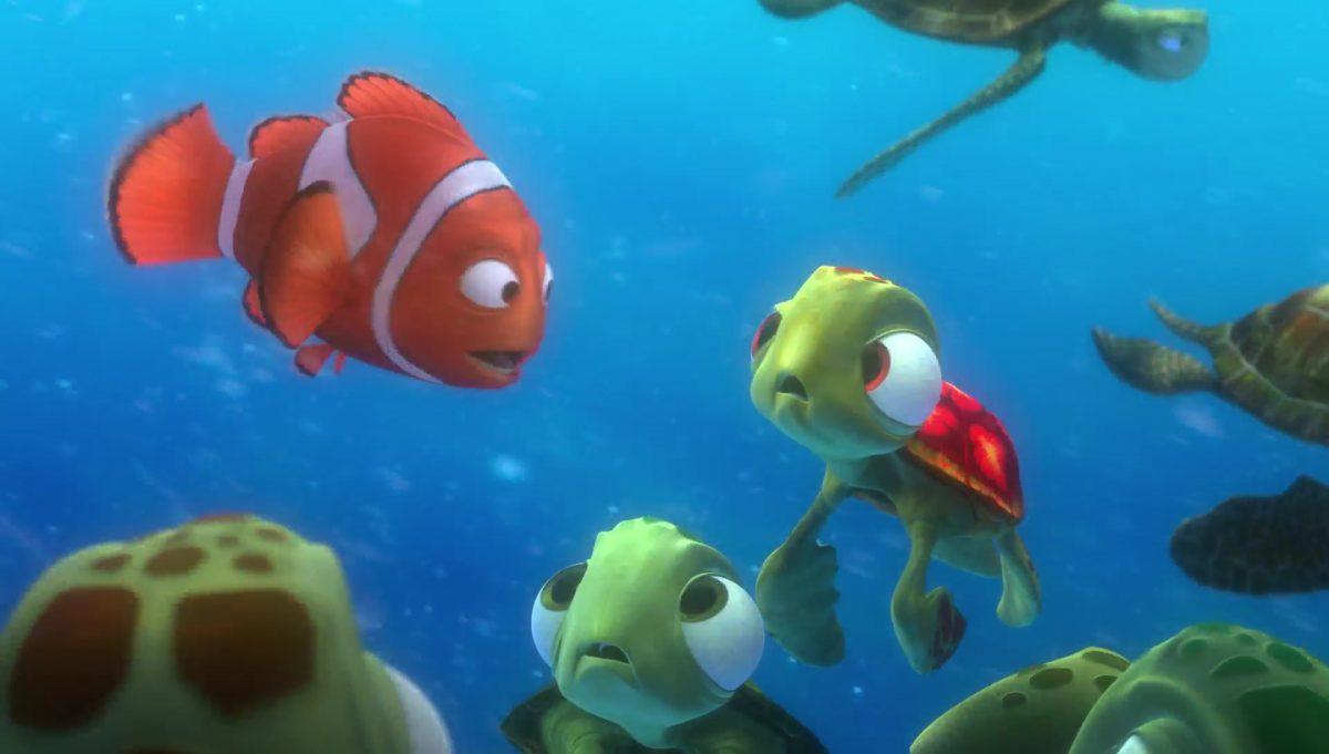 squiz squirt personnage character monde nemo finding dory disney pixar