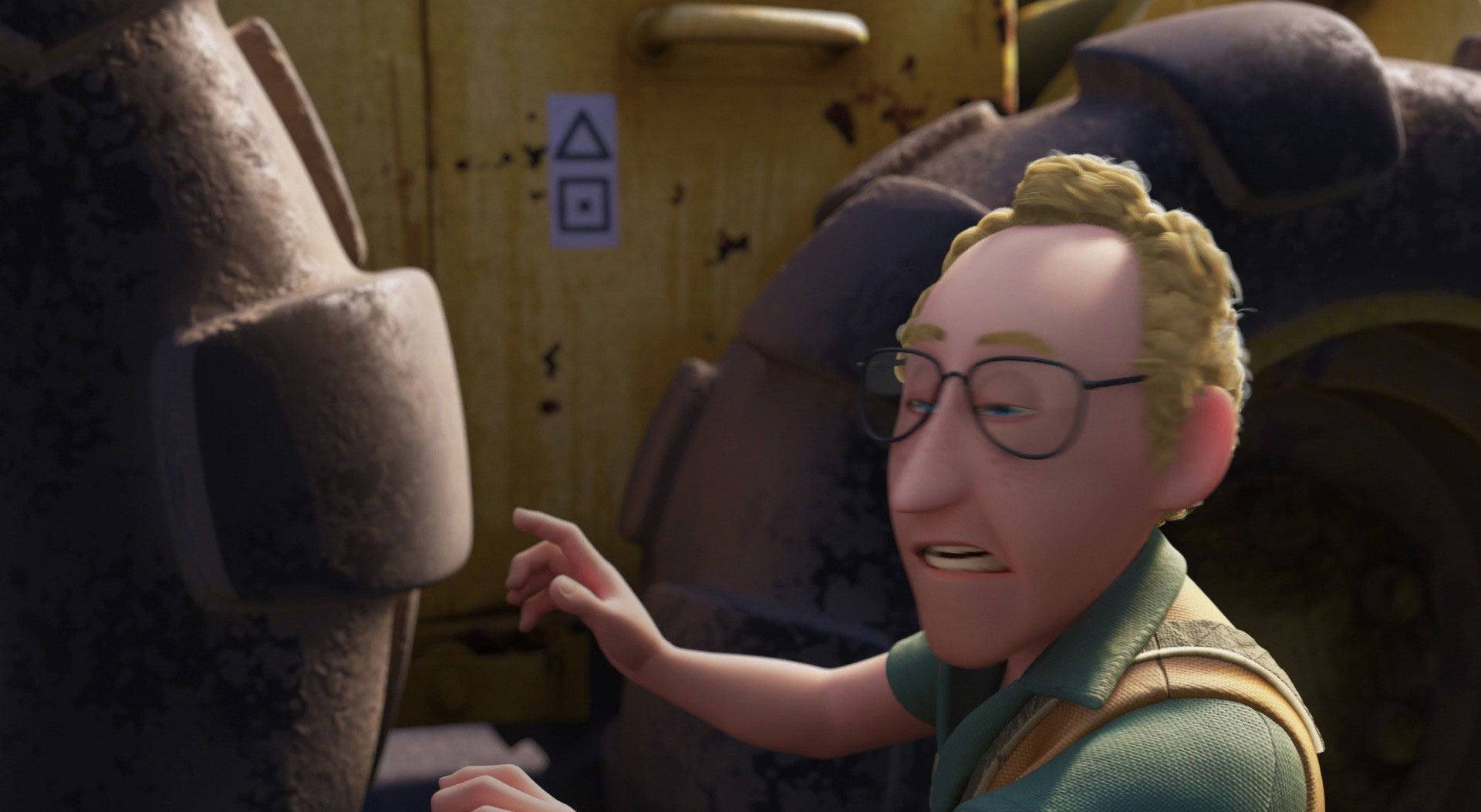 steve personnage character pixar disney là-haut up