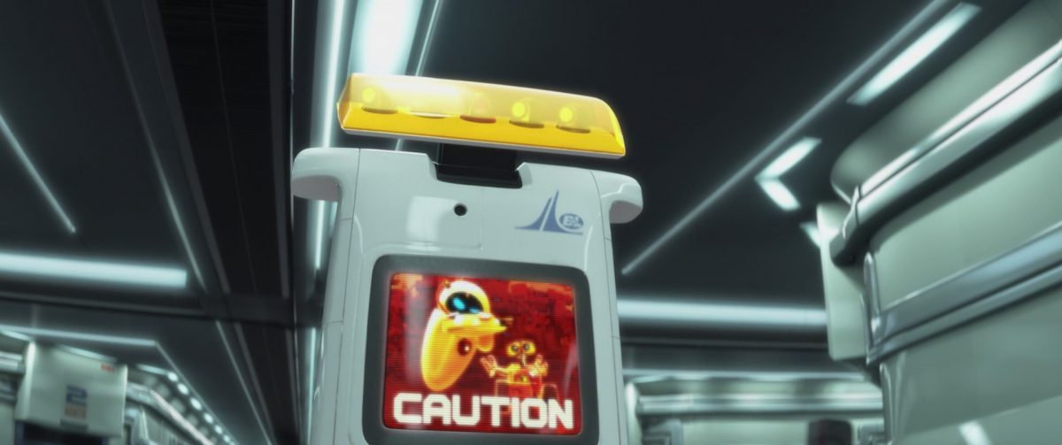 security steward personnage character wall-e disney pixar