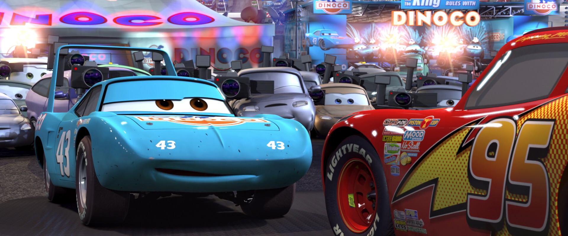 strip king weathers personnage character pixar disney cars