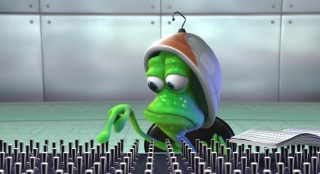 stu  personnage character pixar disney extra terrien lifted