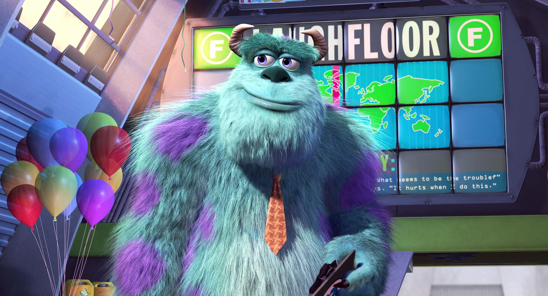 "James P. Sulley Sullivan, from ""Monsters, Inc."" 