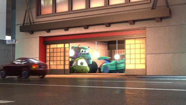 sulli personnage character cars disney pixar