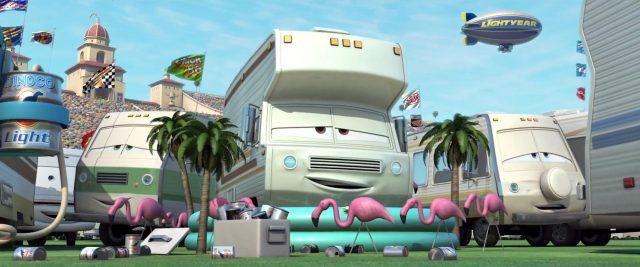 syd vanderkamper personnage character cars disney pixar