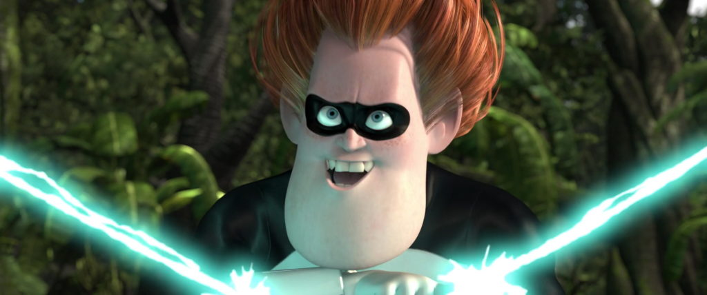 syndrome buddy pine pixar disney personnage character indestructibles incredibles