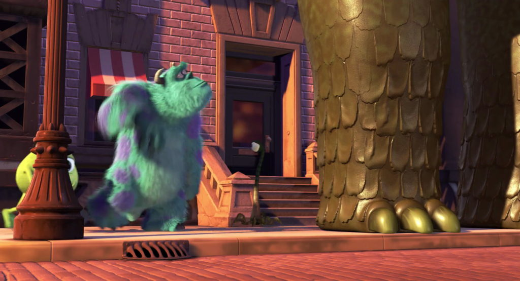 ted pixar disney personnage character monstres cie monsters inc