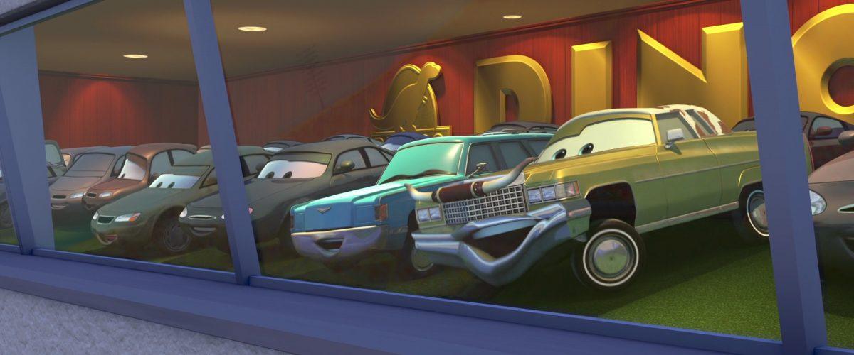 tex dinoco personnage character cars disney pixar